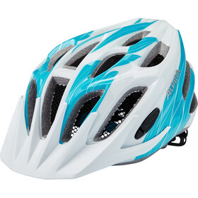 Alpina FB Jr. 2.0 Helmet Youth white-cyan